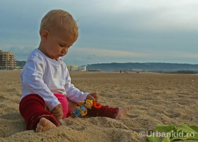 ioana pe plaja