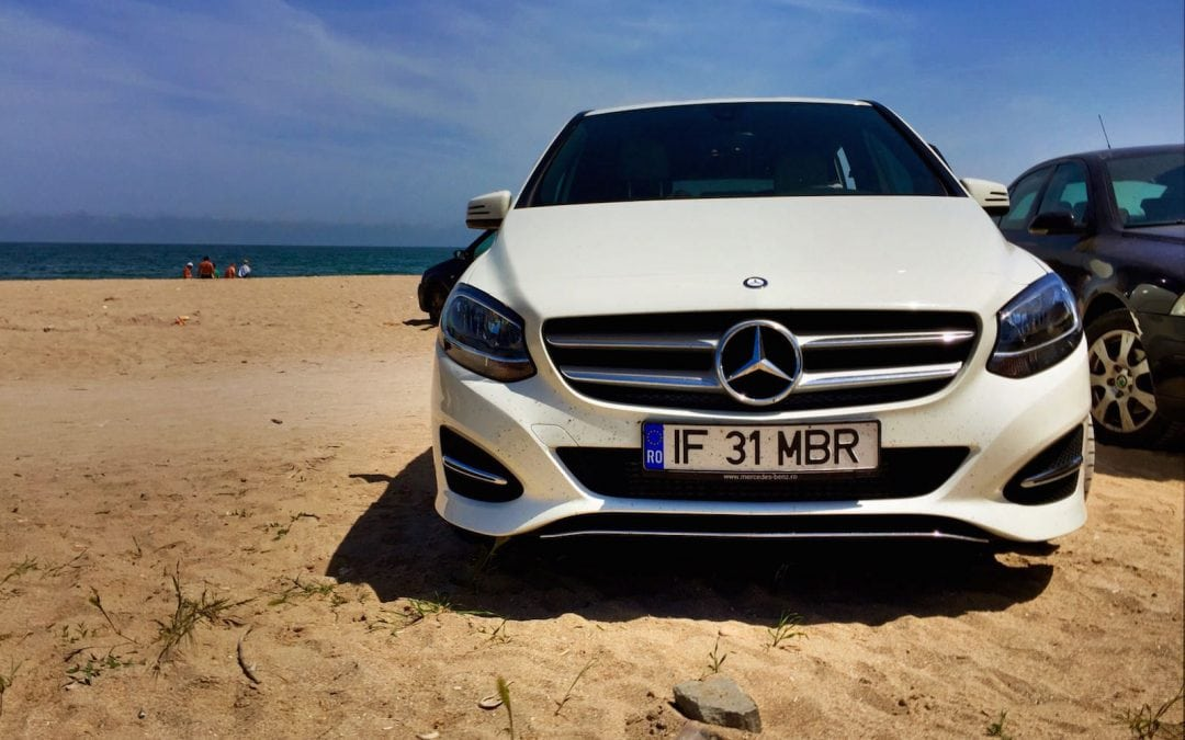Cu Mercedes-Benz Clasa B în Vama Veche #ClasaBSelfie