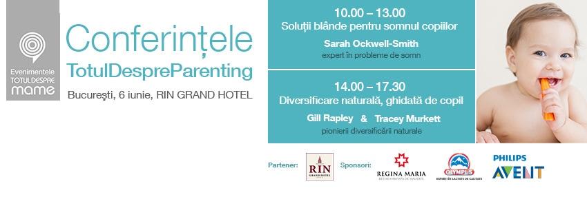 conferintele totul despre parenting