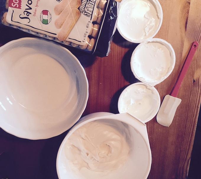 ingrediente tiramisu
