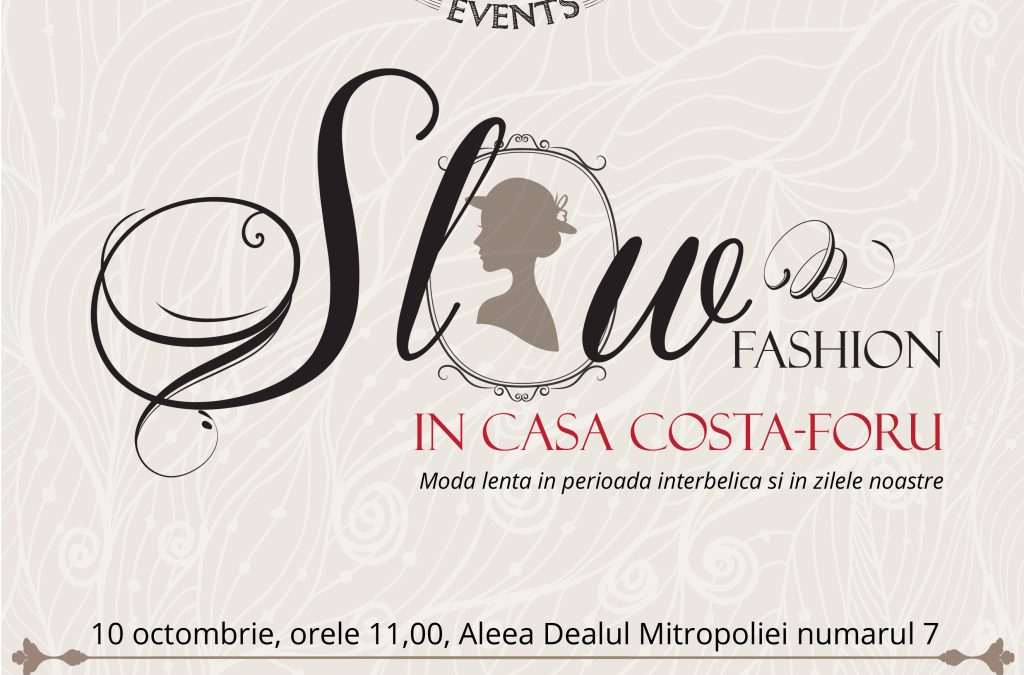 Slow fashion – StylishMom cu Rovena Andrei în Casa Costa-Foru