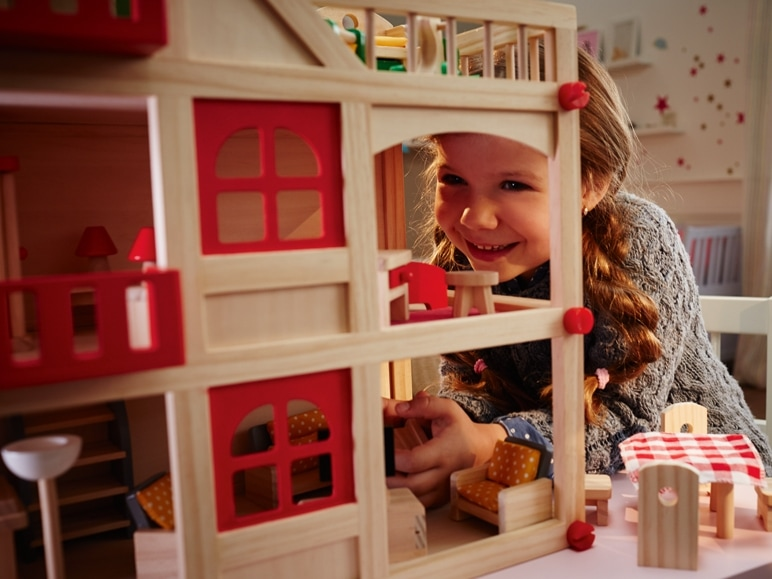 Jucării din lemn pentru copii