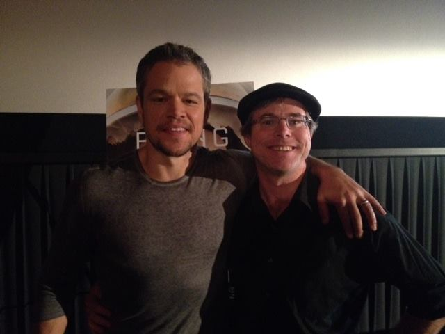 Andy Weir & Matt Damon