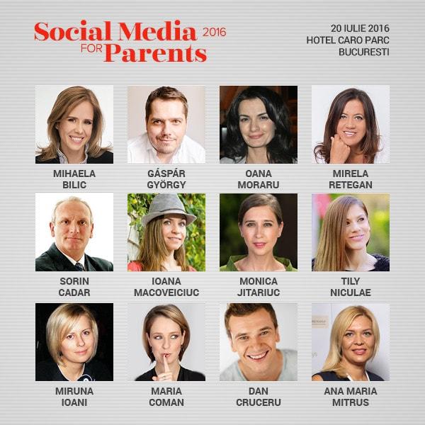 Social Media for Parents, evenimentul dedicat parintilor activi in online
