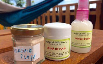 Vara pentru toată familia – produse naturale de pus pe piele