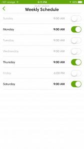 iRobot iOS app