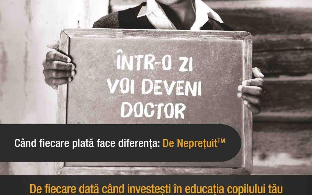 Când îți faci cumpărăturile, Mastercard donează pentru tine pentru susținerea copiilor din România și Africa