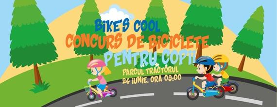Bike's Cool – concurs de biciclete pentru copii în Brașov