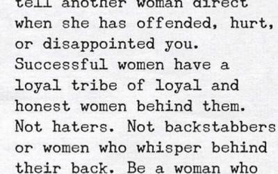 Femeile împreună sunt mult mai puternice