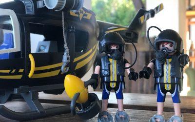 Joacă liberă cu Playmobil Swat