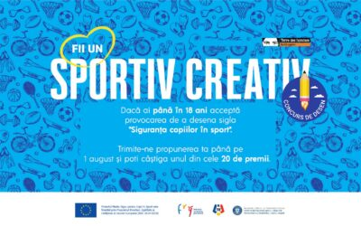 Campanie și concurs devino creatorul siglei 'Siguranța copiilor în sport'!